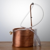 Copper Immersion Wort Chiller 50′