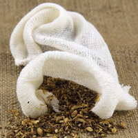 Muslin Hop & Grain Bag